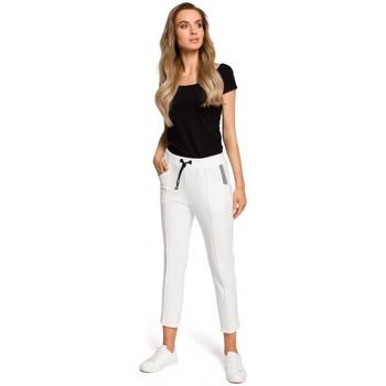 Kleidung Damen Sweatshirts Moe M411 7/8 Jogger - naturfarben