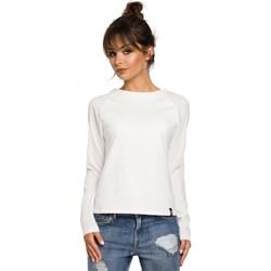 Kleidung Damen Langarmshirts Be B047 Vielseitige Bluse - ecru