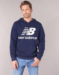 Kleidung Herren Sweatshirts New Balance NB SWEATSHIRT Marine