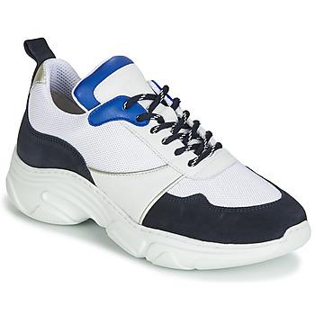 Schuhe Damen Sneaker Low Ikks RUNNING Weiss