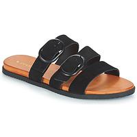 Schuhe Damen Pantoffel Volcom BUCKLE UP BUTTERCUP Schwarz