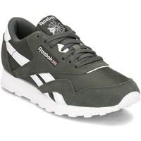 Schuhe Kinder Sneaker Low Reebok Sport Classic Nylon Olivgrün