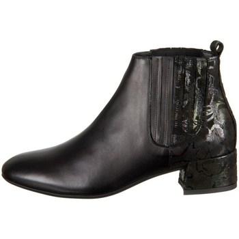 Schuhe Damen Low Boots Think Glei Schwarz