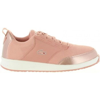 Schuhe Mädchen Sneaker Low Lacoste 36SPJ0008 LIGHT F50 PNK-WHT Rosa