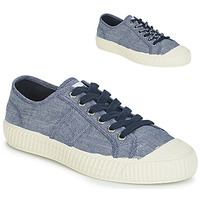 Schuhe Damen Sneaker Low Pepe jeans ING LOW Blau