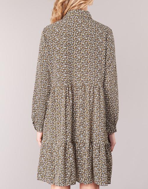Betty London JECREHOU Beige / Braun - Kostenloser Versand |  - Kleidung Kurze Kleider Damen 3599 83ANq
