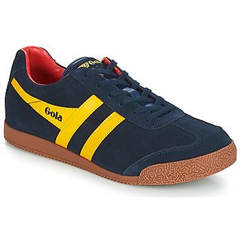 Schuhe Herren Sneaker Low Gola HARRIER Blau / Gelb