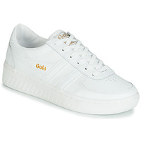 Schuhe Damen Sneaker Low Gola GRANDSLAM LEATHER Weiss