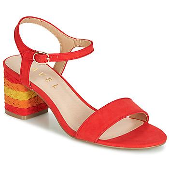 Schuhe Damen Sandalen / Sandaletten Ravel CLEMONT Orange