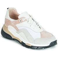 Schuhe Damen Sneaker Low Tosca Blu KELLY Weiss / Beige