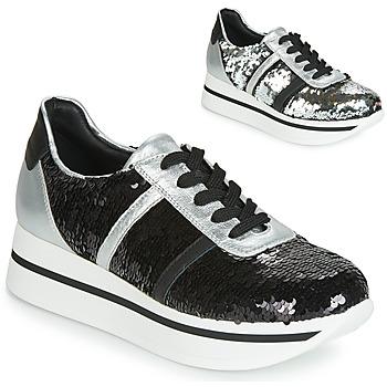 Schuhe Damen Sneaker Low Tosca Blu ANDREA Schwarz