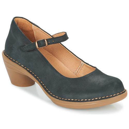 Schuhe Damen Pumps El Naturalista AQUA Schwarz