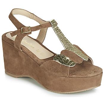 Schuhe Damen Sandalen / Sandaletten Lola Espeleta NAWELLE Braun