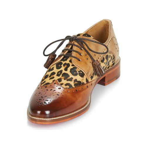 Melvin & Hamilton BETTY-4 Braun   Leopard    Schuhe Derby-Schuhe Damen 75b134