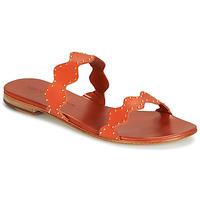 Schuhe Damen Sandalen / Sandaletten Melvin & Hamilton HANNA 46 Orange