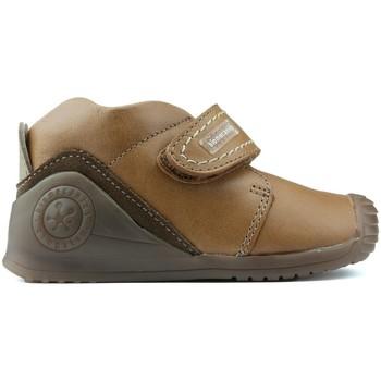 Schuhe Jungen Boots Biomecanics BIOGATEO 161147 MARRON