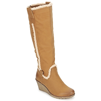 Schuhe Damen Klassische Stiefel StylistClick SANAA Camel