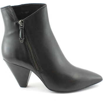 Schuhe Damen Low Boots Bp Zone BPZ-I18-U5401G-NE Nero