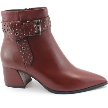 Schuhe Damen Low Boots Bp Zone BPZ-I18-U7302X-PO Bordeaux