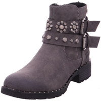 Schuhe Damen Stiefel Stiefelette - 5895102 grau