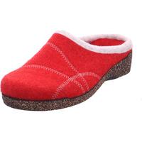 Schuhe Damen Hausschuhe Fischer - 205601 rot