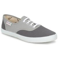 Schuhe Sneaker Low Victoria INGLESA BICOLOR Grau