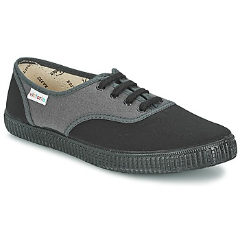 Schuhe Sneaker Low Victoria INGLESA BICOLOR Anthrazit