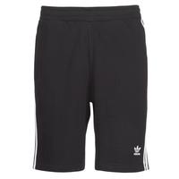 Kleidung Herren Shorts / Bermudas adidas Originals 3 STRIPE SHORT Schwarz