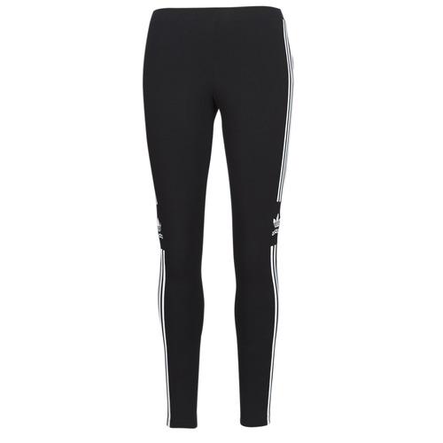 Kleidung Damen Leggings adidas Originals TREFOIL TIGHT Schwarz
