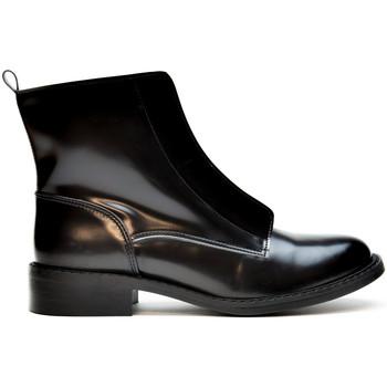 Schuhe Damen Low Boots Nae Vegan Shoes Zipme Schwarz
