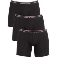 Kleidung Herren Boxershorts/Slips Tommy Hilfiger Herren 3er Pack Premium Essentials Boxershorts, Schwarz schwarz