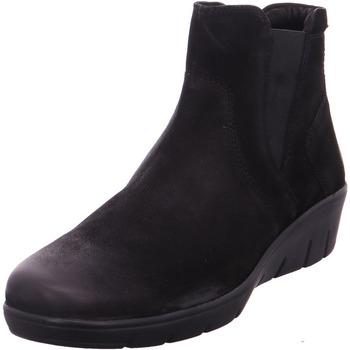 Schuhe Damen Stiefel Stiefelette - 1014826-L20601 schwarz-schwarz