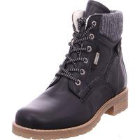 Schuhe Damen Boots Stiefelette Damen BLACK