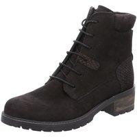 Schuhe Damen Boots Diverse Stiefeletten Beq.Schnür/Schlupfstf 1005456 schwarz