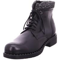 Schuhe Damen Wanderschuhe Marco Tozzi Damen Stiefelette BLACK ANT.COMB