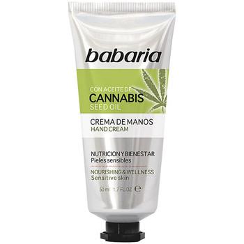 Beauty Hand & Fusspflege Babaria Cannabis Crema Manos Nutrición Y Bienestar  50 ml