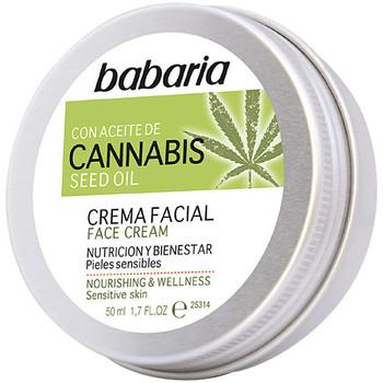 Beauty pflegende Körperlotion Babaria Cannabis Crema Facial Nutrición Y Bienestar  50 ml