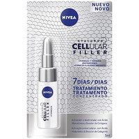 Beauty Damen gezielte Gesichtspflege Nivea Hyaluron Cellular Filler Ampolla Firmeza Instantánea  5 ml