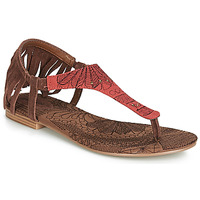 Schuhe Damen Sandalen / Sandaletten Desigual SHOES_LUPITA_LOTTIE Cognac / Rot