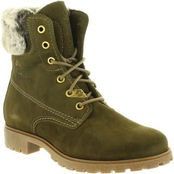 Schuhe Damen Klassische Stiefel Panama Jack FELICIA B25 Verde