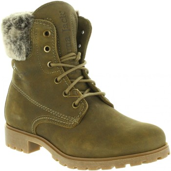 Schuhe Damen Klassische Stiefel Panama Jack FELICIA B26 Verde