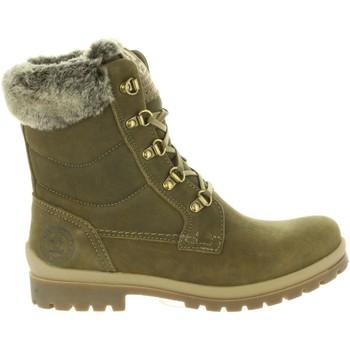 Schuhe Damen Klassische Stiefel Panama Jack TUSCANI B18 Verde