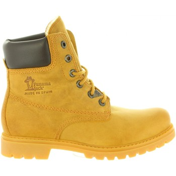 Schuhe Damen Wanderschuhe Panama Jack PANAMA 03 WOOL B1 Amarillo