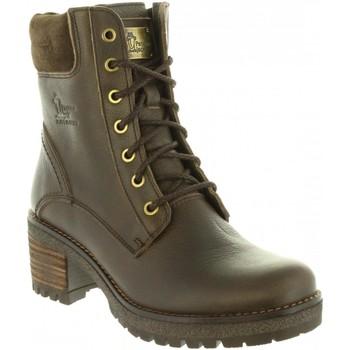 Schuhe Damen Wanderschuhe Panama Jack PHOEBE B15 Marrón