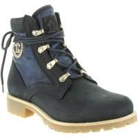 Schuhe Damen Wanderschuhe Panama Jack ROUTE BOOT REPORTER B11 Azul