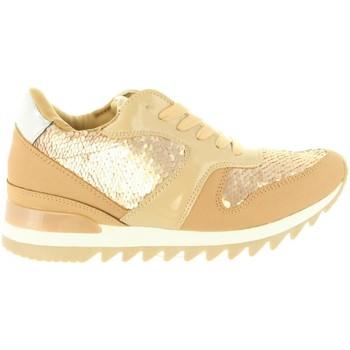 Schuhe Damen Sneaker Low Chika 10 NEW INES 01 Beige