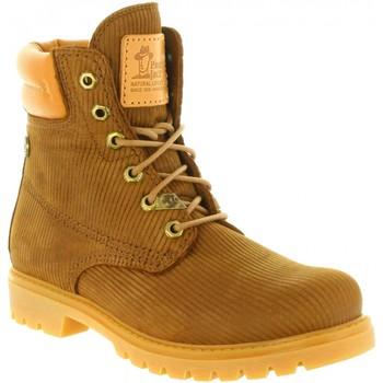 Schuhe Damen Boots Panama Jack PANAMA 03 WOOL B18 Marr?n