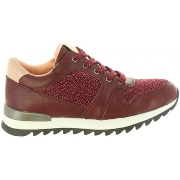 Schuhe Mädchen Sneaker Low Chika 10 CARIOCA 02 Rojo