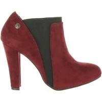 Schuhe Damen Ankle Boots Chika 10 CONIGLIERA 03 Rojo