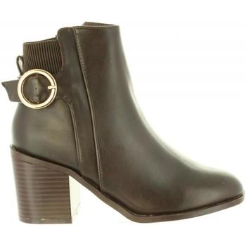 Schuhe Damen Low Boots Chika 10 NOA 04 Marrón